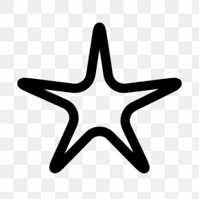 Solid Five Pointed Star - Five-pointed Star Shape Clip Art PNG