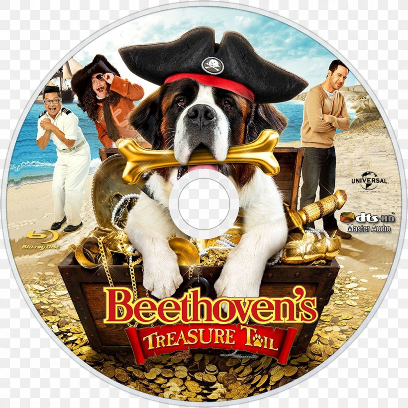 Blu-ray Disc United States Beethoven DVD Film, PNG, 1000x1000px, 2014, Bluray Disc, Beethoven, Dog, Dog Breed Download Free