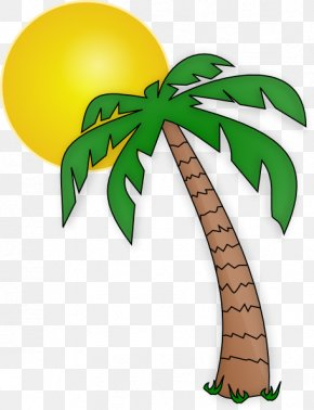 Palm Trees Clipart - Clip Art Palm Trees Openclipart Image Vector Graphics PNG