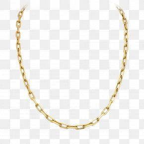 Jewelry Image - Necklace Jewellery Gold Chain PNG