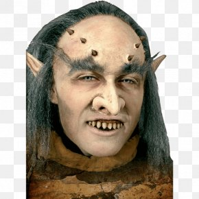 Zhang Tooth Grin - Goblin Live Action Role-playing Game Orc Mask PNG