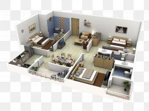 Interior Design - Interior Design Services 3D Floor Plan House PNG