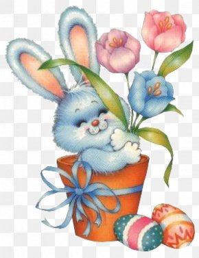 Cute Bunny - Easter Bunny Resurrection Of Jesus Clip Art PNG
