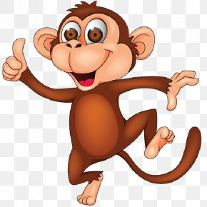 Cartoon Transparent - Monkey Cartoon Royalty-free Clip Art PNG