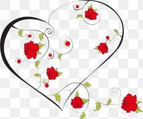 Romantic Valentine's Day Heart Garland - Photography Illustration PNG