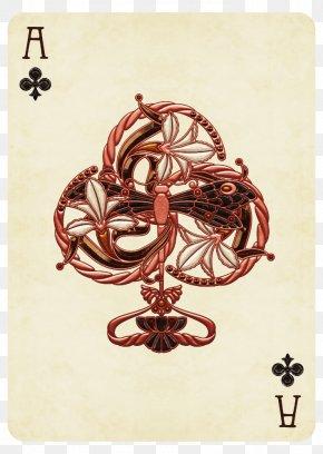 Maison De L'art Nouveau - Ace Of Hearts Playing Card Ace Of Spades Face Card PNG