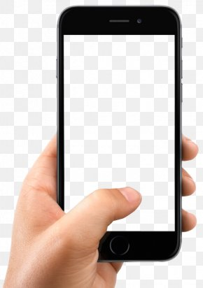 Hand Holding Smartphone - IPhone X Smartphone PNG