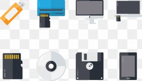 Mobile Phone Computer Parts - Computer Mouse Computer Hardware USB Flash Drive PNG