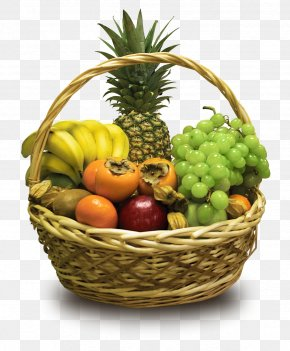 Fruits Basket - Fruit Food Gift Baskets Hamper PNG