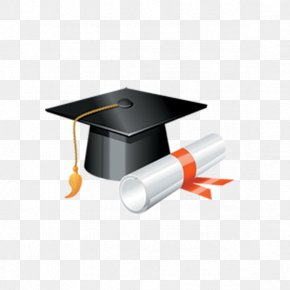 Graduation Hat - Square Academic Cap Graduation Ceremony Hat Clip Art PNG