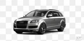 Car - Audi Q7 Car Luxury Vehicle Tire PNG