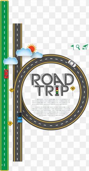 Vector Road - Road Trip Euclidean Vector Clip Art PNG