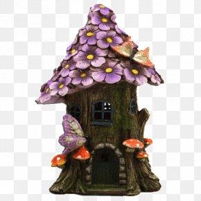 Fairy Lights - Tree House Fairy Garden Flower Fairies PNG