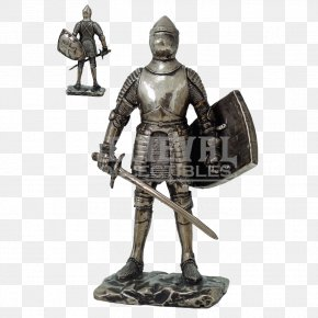 Armour - Middle Ages Knight Plate Armour Shield PNG