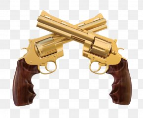 Hand Gun - Revolver Firearm Weapon Pistol Stock Photography PNG