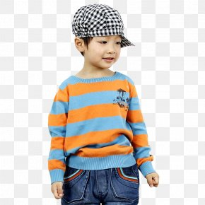 Boys Sweater - Sweater Childrens Clothing Gratis PNG