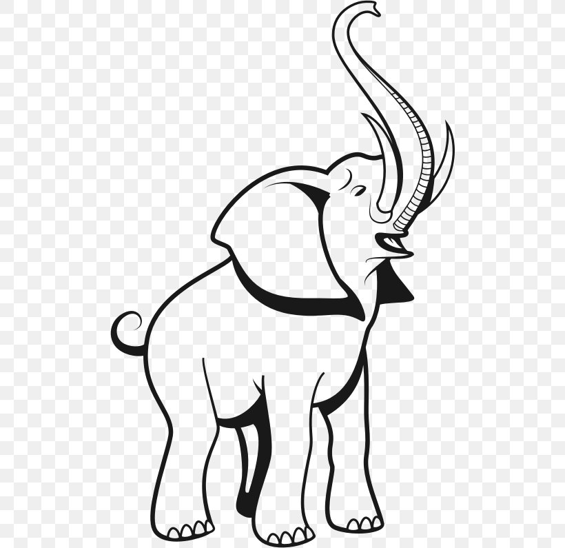 Elephant Drawing Clip Art Png 500x795px Elephant African Elephant Art Black And White Carnivoran Download Free Elephant face bold vector icon. elephant drawing clip art png