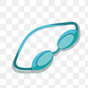 Swimming Glasses - Glasses Swimming Computer File PNG