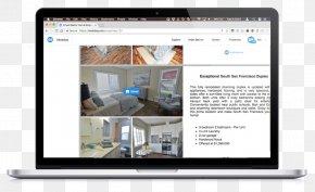 Flyer Brochure Template - Real Estate Computer Monitors Property Marketing Computer Software PNG