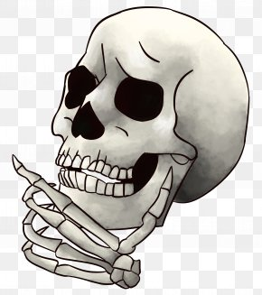 Skull - Skull And Crossbones Skeleton Image Emoji PNG