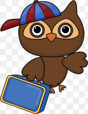 School Notes 2.0 - Student School Owl Classroom Clip Art PNG