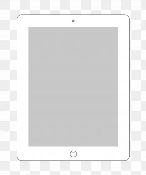 IPad Outline Cliparts - Text Picture Frame Pattern PNG