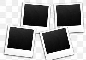 Blackboard Blackandwhite - Background Black Frame PNG