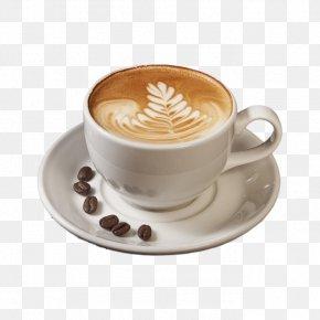 Coffee - Cappuccino Coffee Cafe Espresso Latte PNG