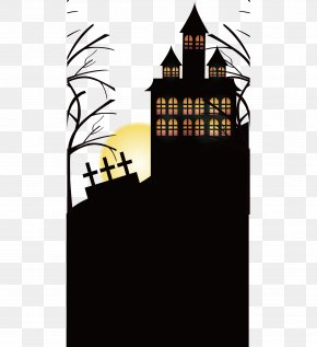 Graveyard Of Horrors Castle Party - Halloween Icon PNG