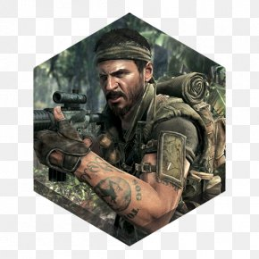 Game Black Ops - Mercenary Army Infantry Military Camouflage Soldier PNG