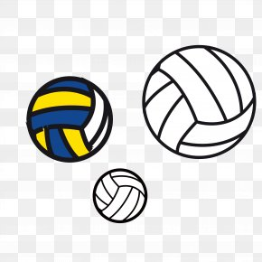 White Volleyball - Ball Game Sport Clip Art PNG