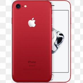 Iphone 7 Red - Telephone 4G LTE 128 Gb PNG