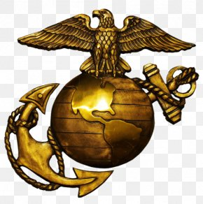 United States - United States Marine Corps Eagle, Globe, And Anchor Logo PNG