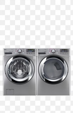 Front Ensemble - Combo Washer Dryer Washing Machines Clothes Dryer Laundry Home Appliance PNG