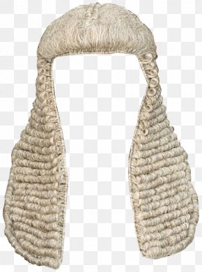 Lawyer - Court Dress Judge Wig Lawyer Barrister PNG