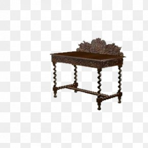 Table - Table Chair Drawer 3D Modeling PNG