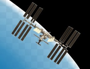 Cliparts Space Station - International Space Station Space Shuttle Program Clip Art PNG