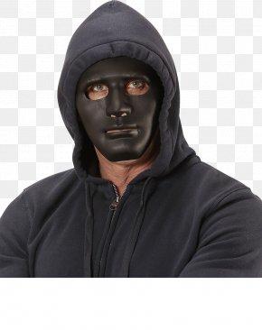 Black Costume Balaclava White Horse MaskMask - Anonymous Mask PNG