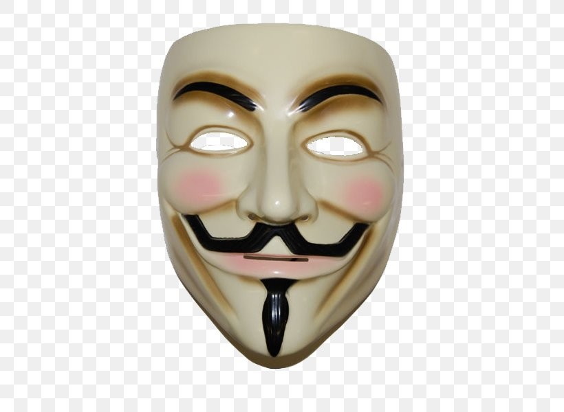 V For Vendetta Guy Fawkes Mask Anonymous, PNG, 600x600px, Guy Fawkes Mask, Anonymous, Costume, Costume Party, Face Download Free