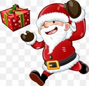 Santa Claus - Santa Claus Christmas Tree Skirt Christmas Decoration PNG