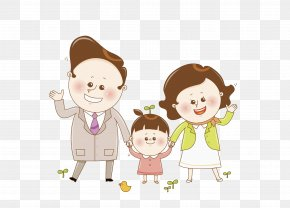 Happy Family - Mother Father Parent Child PNG