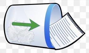 Clip Art - Rubbish Bins & Waste Paper Baskets Bin Bag Clip Art PNG
