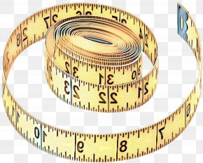 Tape Measure Measuring Instrument - Tape Measure PNG