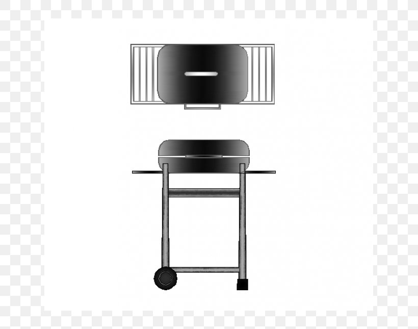 Barbecue Dwg Furniture Plan Fireplace Png 645x645px Barbecue