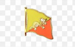 Flag - Flag Of Bhutan Flag Of Bhutan Lapel Pin Fahne PNG