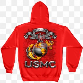 United States - United States Marine Corps T-shirt Eagle, Globe, And Anchor Semper Fidelis PNG