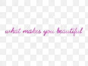 Beatiful - What Makes You Beautiful Text DeviantArt Logo Digital Art PNG