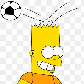 Bart Simpson Soccer - Bart Simpson Homer Simpson Lisa Simpson Maggie Simpson Mr. Burns PNG