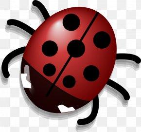Ladybug Outline - Beetle Ladybird Clip Art PNG