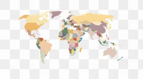 World Map Vector Material - World Map Globe Wallpaper PNG
